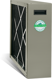Healthy Climate Carbon Clean 16 Media Air Cleaner - The Furnace Company - Furnaces, Air Conditoning, Air Quality, Heaters - 24 Hour Service - Lennox Dealer - Edmonton, Alberta, Canada - (780) 450-4328