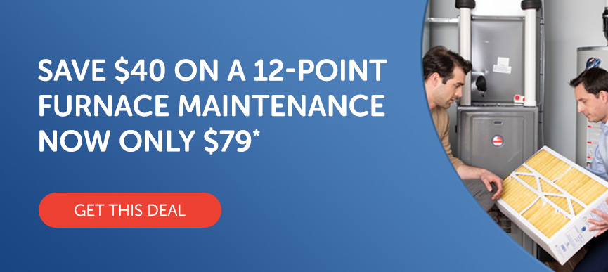 Save $40 on a 12-Point Furnace Maintenance Now Only $79*