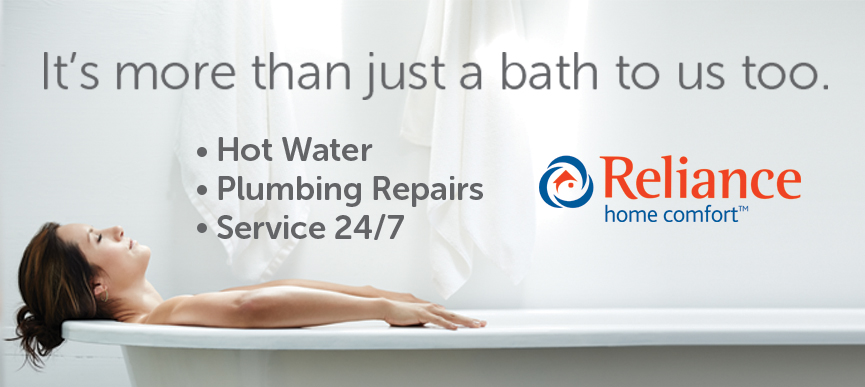 Hot water, plumbing repairs and 24/7 service | Reliance Home Comfort